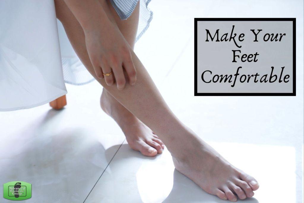 Make Your Feet Comfortable